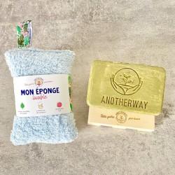 Eponge écologique, lavable...