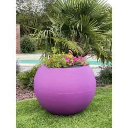 Pots de fleurs sphériques -...